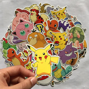 100x Pokémon Sticker mix picture
