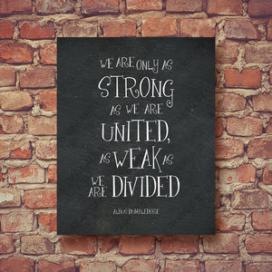Albus Dumbledore quote wall art picture