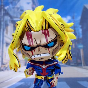 All Might Custom Painted Funko Pop picture