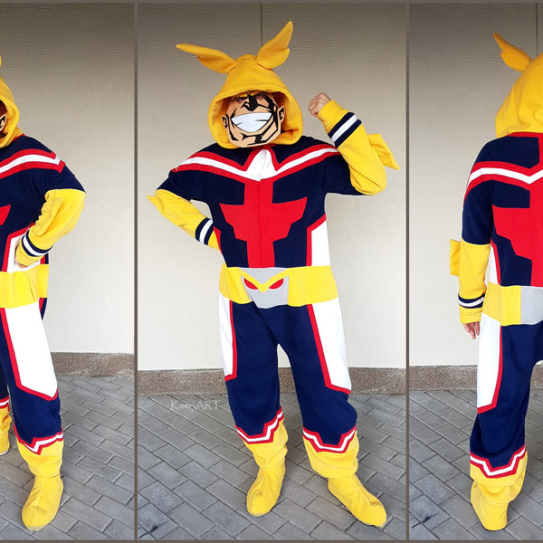 cfece34c8628 All Might Kigurumi Onesie