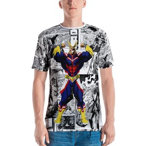 All Might manga t-shirt picture