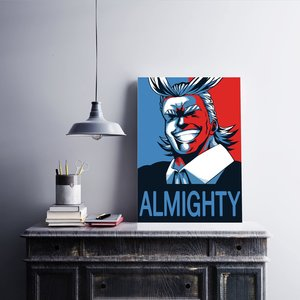 All Might propaganda poster picture