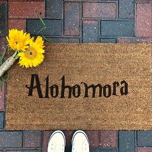 Alohomora Doormat picture