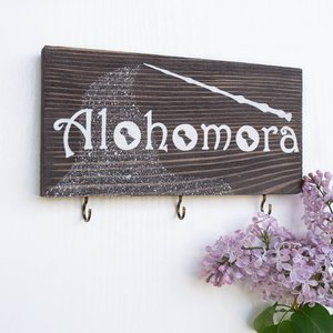 Alohomora key holder picture