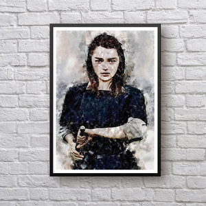 Arya Stark Game of Thrones Print picture
