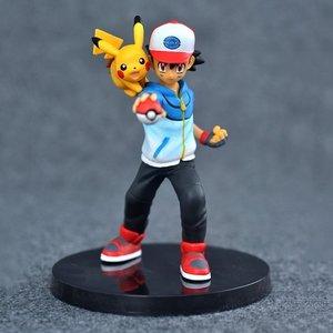 Ash Ketchum & Pikachu figure picture