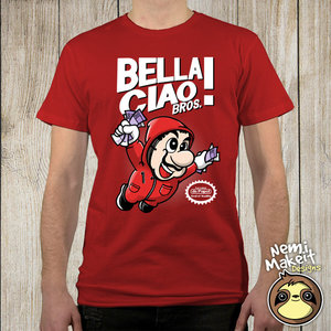 Bella ciao Bros. T-shirt picture