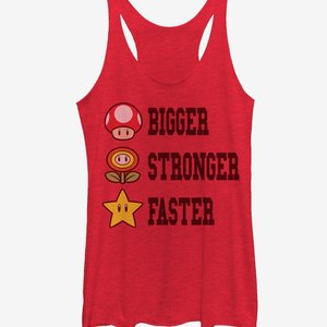 Bigger Stronger Faster Womens Tank picture