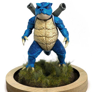 Blastoise sculpture picture