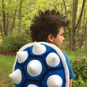 Blue Bowser Shell Backpack picture