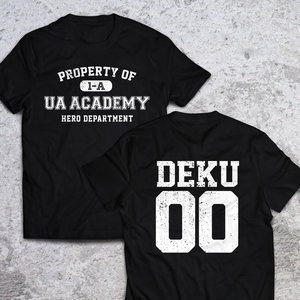 Property of UA Academy t-shirt picture