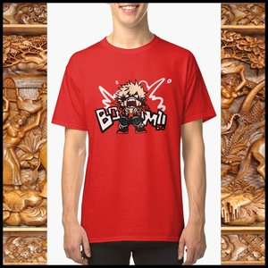 BOOOM!! Katsuki Bakugo t-shirt picture