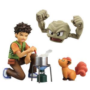Brock, Geodude & Vulpix Action Figures picture