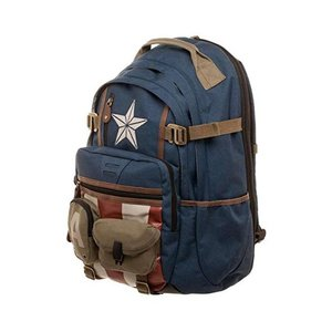 Captain America's Herringbone Backpack picture