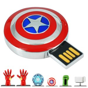 Captain America's shield pen drive picture
