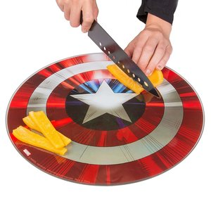 Captain America Shield Cutting Board picture