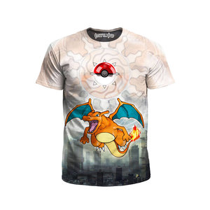 Charizard fully covered t-shirt picture