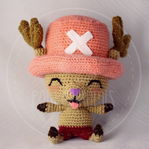 Cute Chopper amigurumi picture