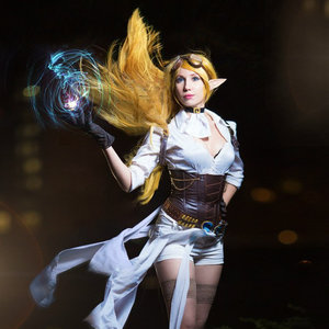 Cosplay of Janna Hextech from League of Legends picture