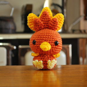 Crochet Chibi Torchic picture