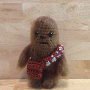 Crocheted Star Wars Chewbacca amigurumi picture