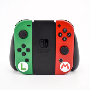 Custom Super Mario & Luigi Joy-Con picture