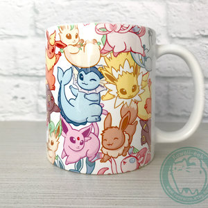 Cute Eeveelutions Mug picture