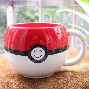 Cute Poke Ball ceramic mug picture