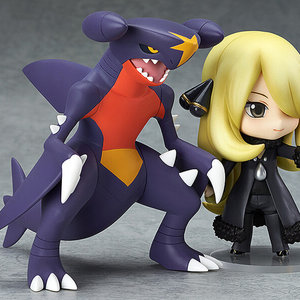 Cynthia and Garchomp action figures picture