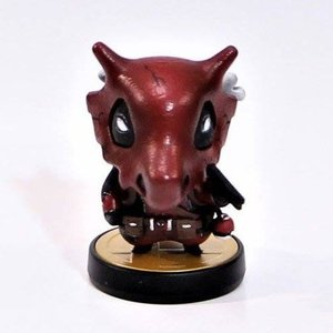 Deadpool Cubone - Custom Amiibo picture