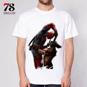 Deadpool Vs Wolverine t-shirt picture
