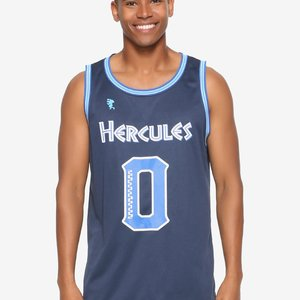 Disney Hercules Blue 0 To Hero Jersey picture