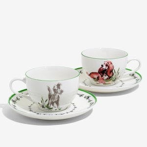Disney Lady And The Tramp Teacup Set picture