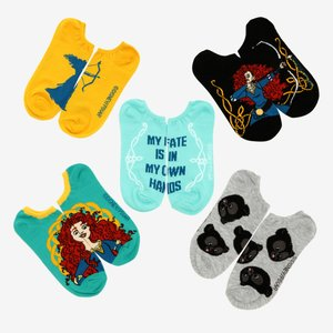Disney Pixar Brave no-show socks picture
