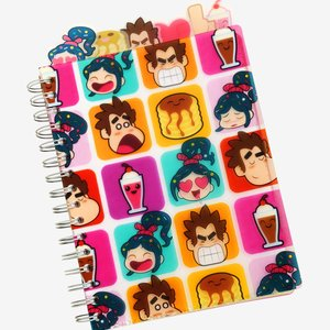 Disney Wreck-It Ralph Journal With Tabs picture