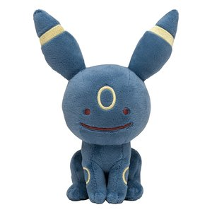 Ditto transformed Umbreon - Pokemon plush picture