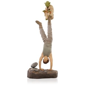 Do or do not, there is no try - Luke and Yoda figure picture