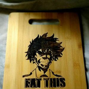 Eat This - My Hero Academia cutting board picture
