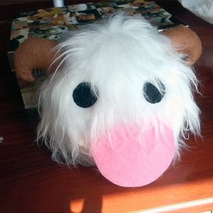 Fluffy Poro Plushie - League of Legends plush picture