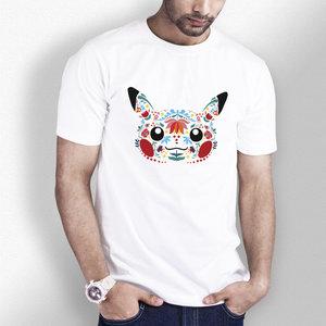 Folk Art Style Pikachu T-shirt picture