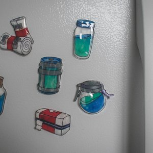 Fornite Fridge Magnet Pack picture