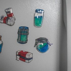 Fornite Fridge Magnet Pack picture