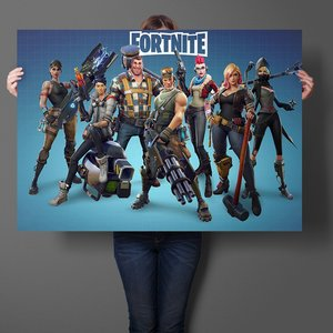 Fortnite characters poster picture