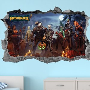 Fortnitemares - Fortnite Wall Sticker picture