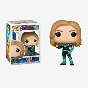 Funko Pop! Marvel Captain Marvel Bobble-Head picture