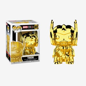 Funko Pop! Marvel: Thor Chrome Vinyl Figure picture