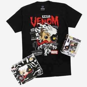Funko Pop! Marvel Venom Vinyl Bobble-Head & T-Shirt picture