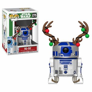 Funko Pop R2D2 with Antlers picture