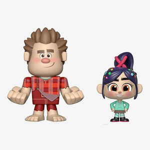Funko Vynl. Wreck-It Ralph & Vanellope picture