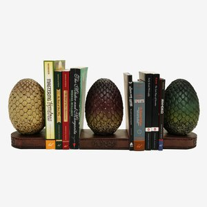 Game Of Thrones Dragon Egg Bookends picture